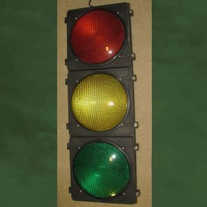 12-inch Tinted LED 3-section Traffic Light without Visors -- $95