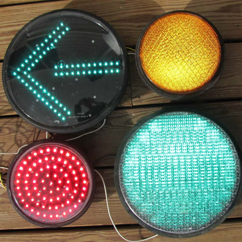 Assorted traffic light LEDs