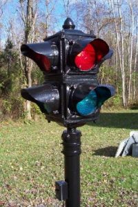 Restored Ruleta traffic light