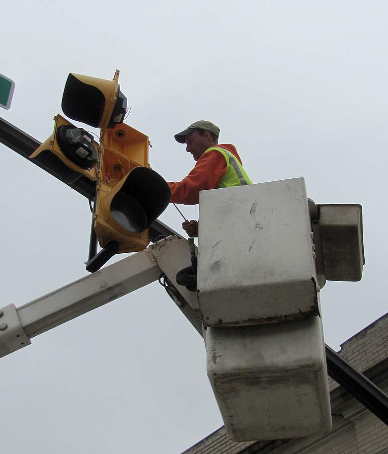 LED upgrade for older signals