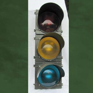 12-inch Incandescent traffic signal